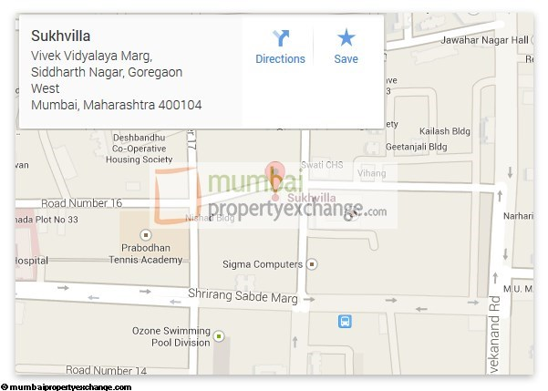 Sukhvilla Location Plan