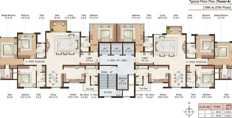 Beaumonde A Floor Plan II