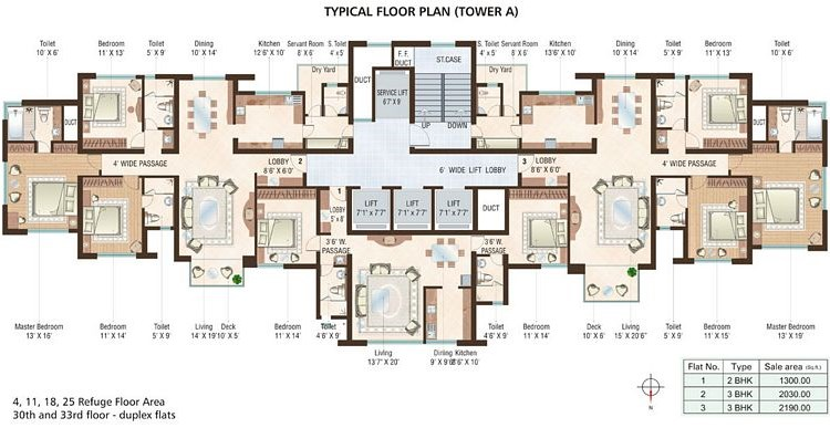 Beaumonde A Floor Plan IV