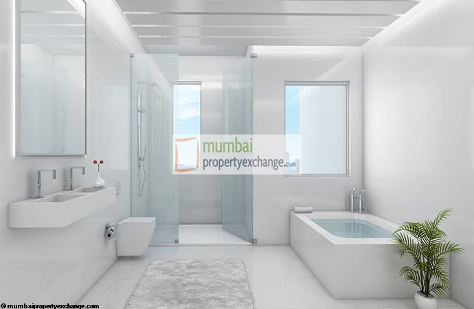 Godrej Sky Bathroom Plan