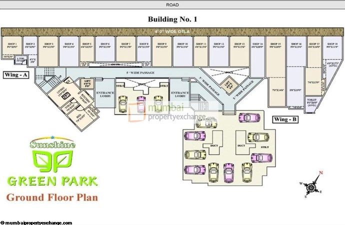 Sunshine Green Park GROUND FLOOR PLAN