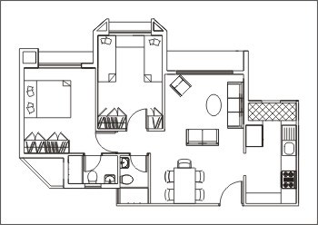 Viceroy Court Flat Plan