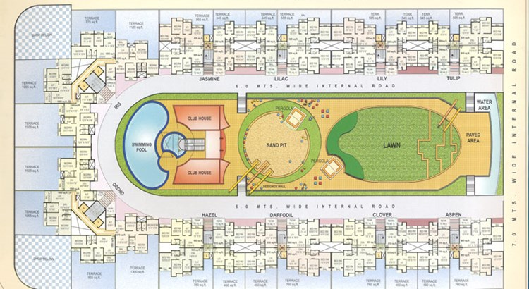 Kesar Gardens First floor plan