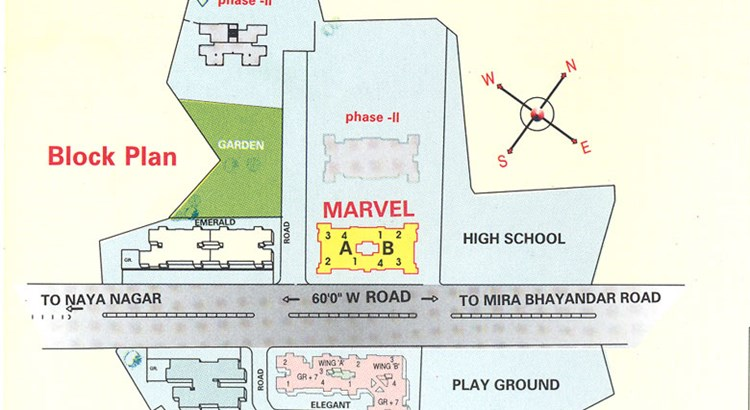 Sanghvi Complex Lay Out