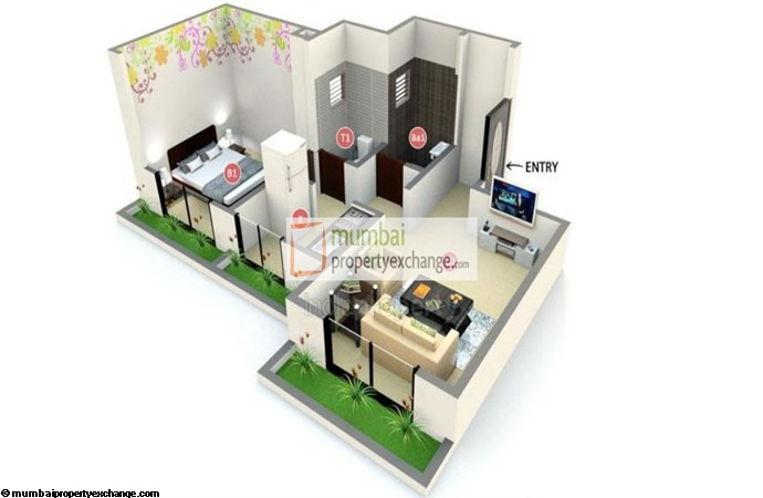 Crystal Residency Floor Plan