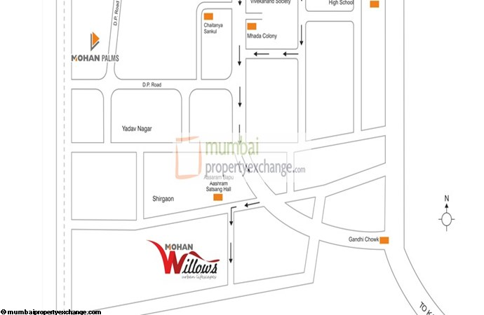 Mohan Willows  Location Plan