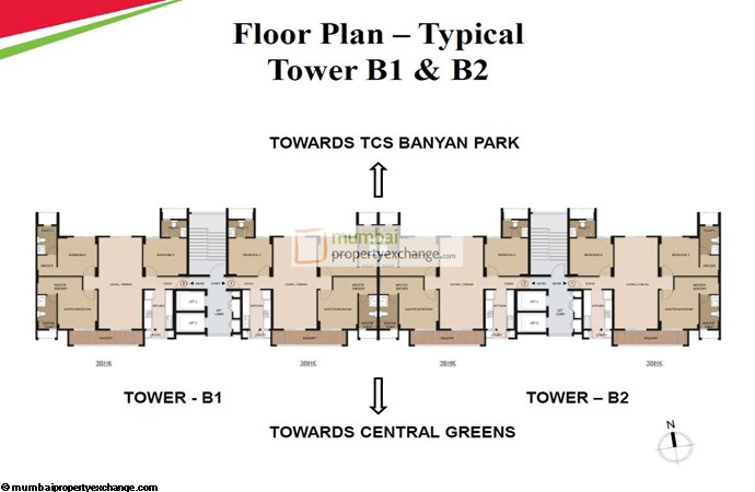 Mahindra Vivante Floor Plan
