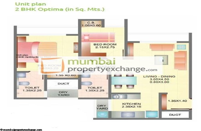 Dosti Codename Landmark 2bhk Optima