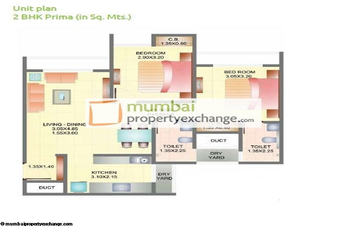 Dosti Codename Landmark 2bhk Ultima