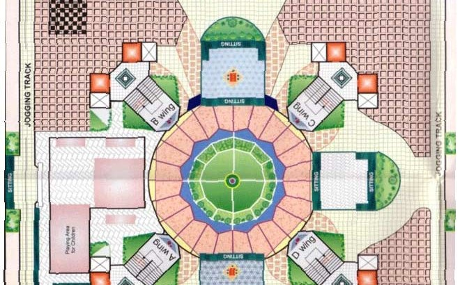 Silicon Towers Garden Plan
