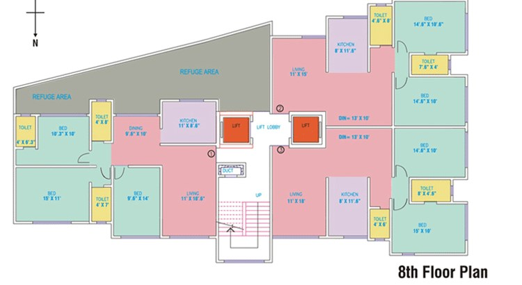 Mahavir Empress Floor Plan 1