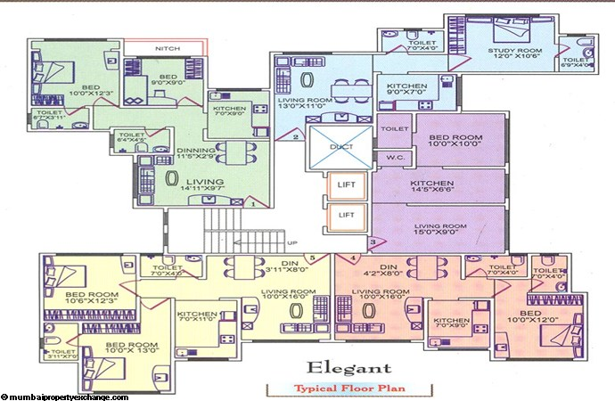 Mahavir Classik floor plan