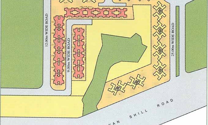 River Wood Park Layout Plan