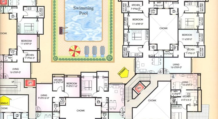 Seawoods Floor Plan