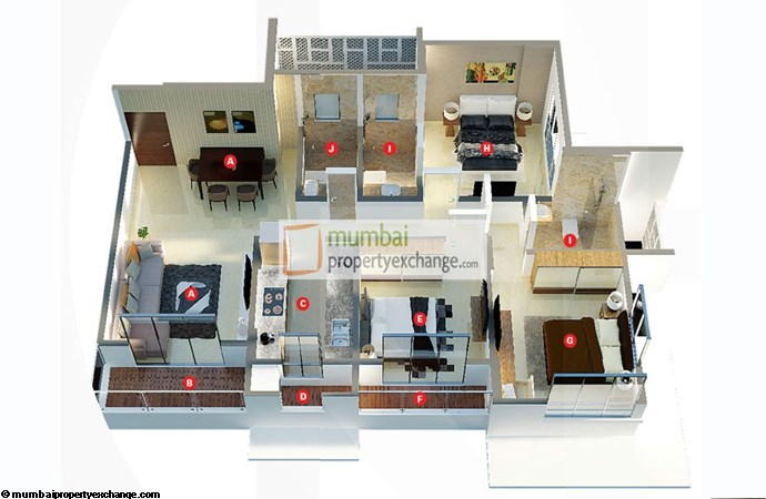 Darvesh Grand Floor Plan