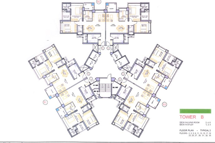 Floor Plan Wing B