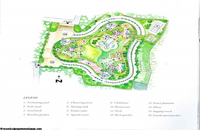 Oberoi Springs Layout
