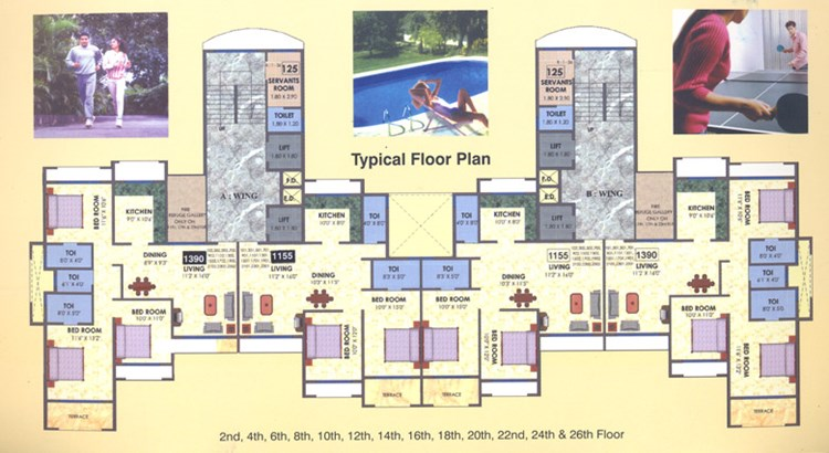 Sai Pride Even Floor Plan