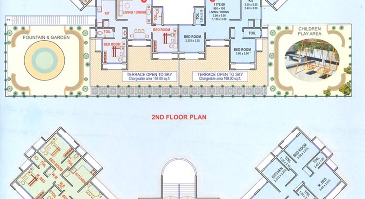 Orion 1st and 2nd Floor Plan
