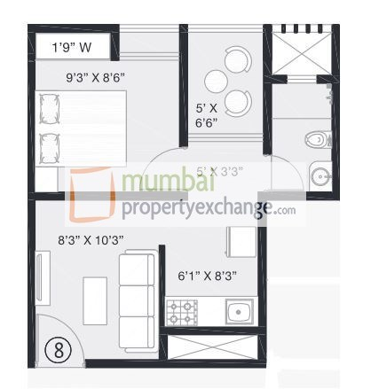 1BHK Small