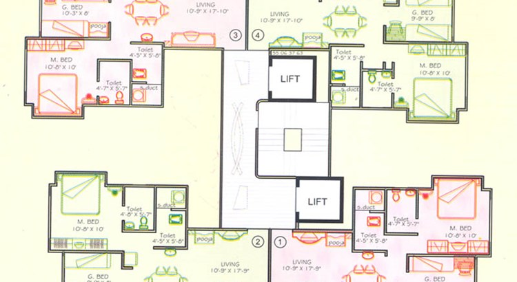 Ozone Valley Floor Plan I
