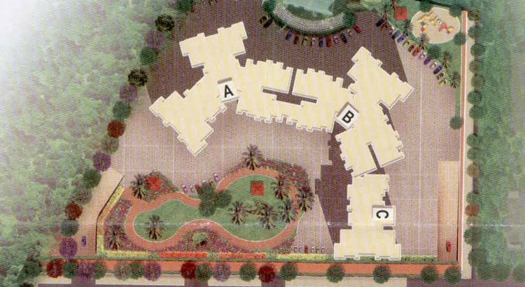 Abrol Vastu Park Layout Buildings