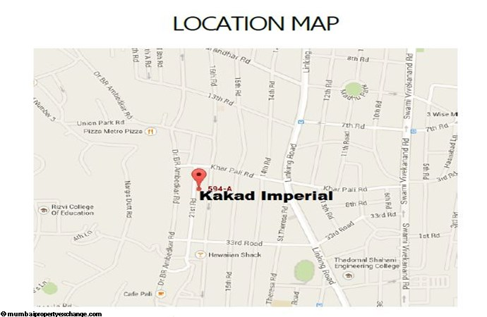 Kakad Imperial Location Map