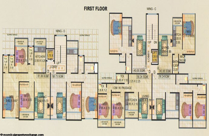 Balaji Empire  First Floor Plan