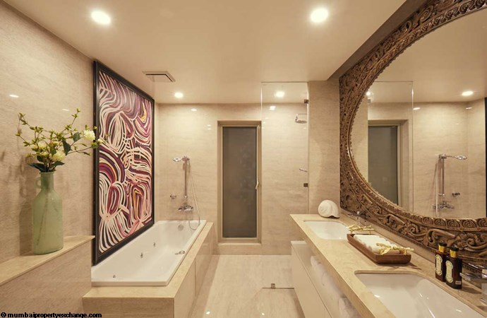 Hampton One Hiranandani Park Hampton Bathroom (Representation Only)