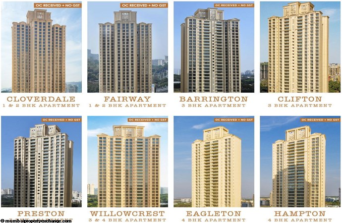 Hampton One Hiranandani Park Towers