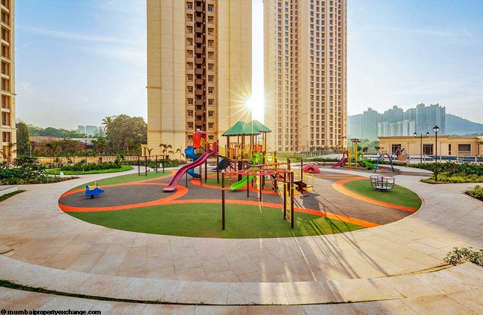 Willowcrest One Hiranandani Park Kids Play Area