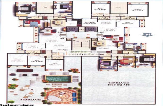 Mahavir Ornate Floor Plan
