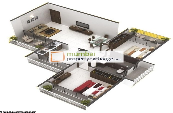 Solitaire 2 BHK