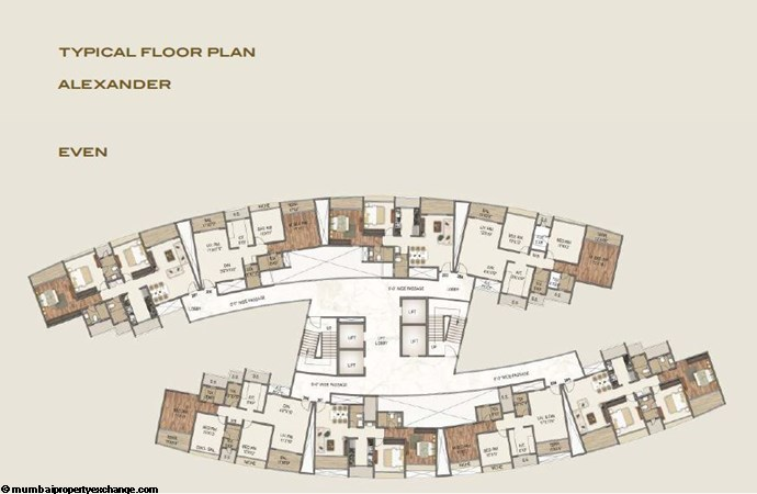 Sai World Empire Sai World Empire Alexander Even Typical Floor Plan