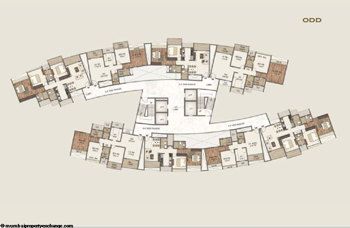 Sai World Empire Sai World Empire Alexander Odd Typical Floor Plan