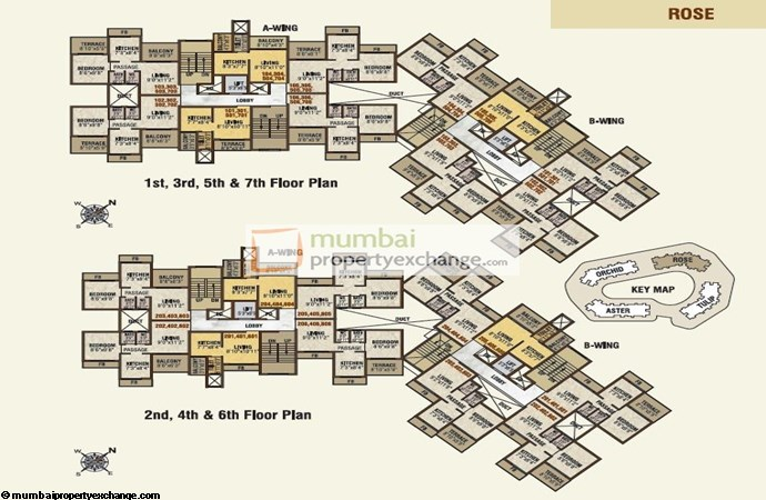 Imperia Garden Rose floorplan