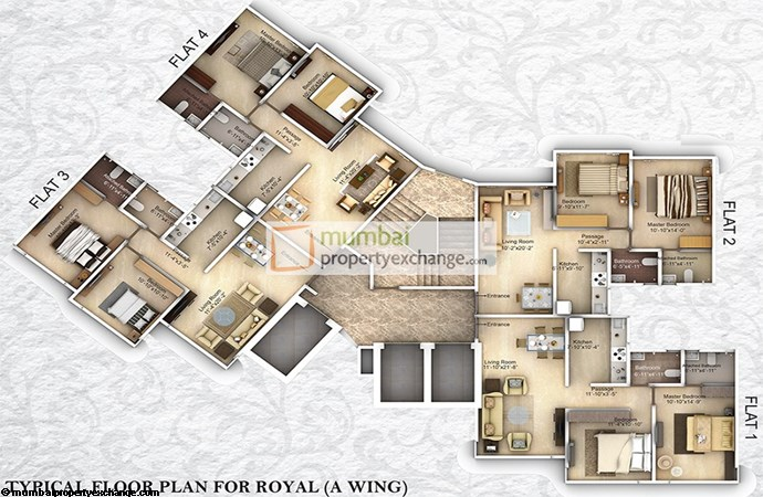 Raghvendra Empire A Floor plan