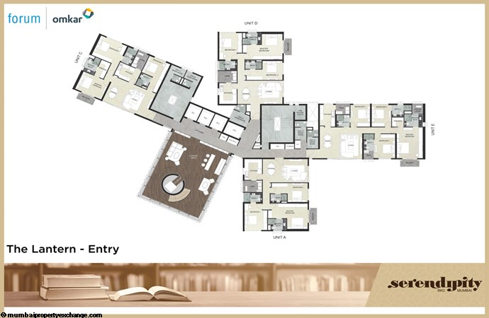 Serendipity Serendipity Floor Plan_The Lantern - Entry