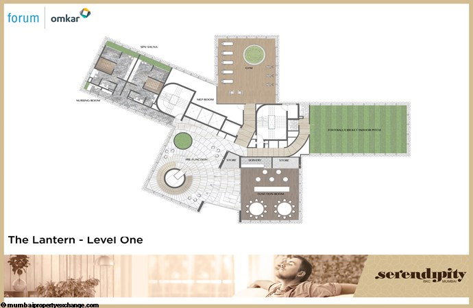 Serendipity Serendipity Floor Plan_The Lantern - Level One