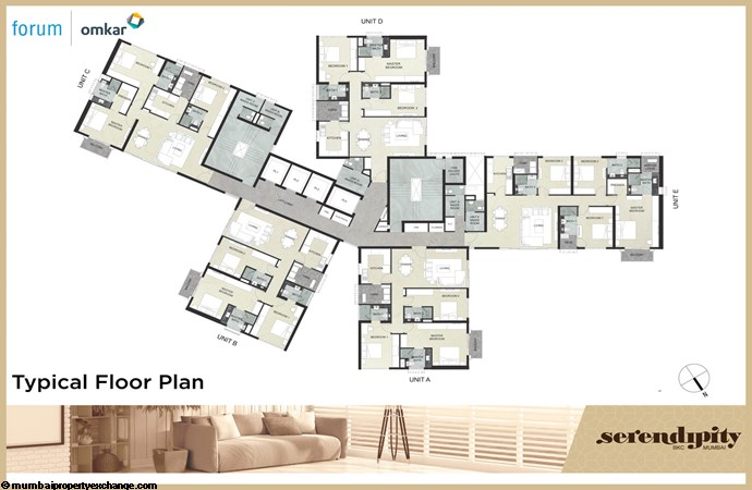Serendipity Serendipity Typical Floor Plan