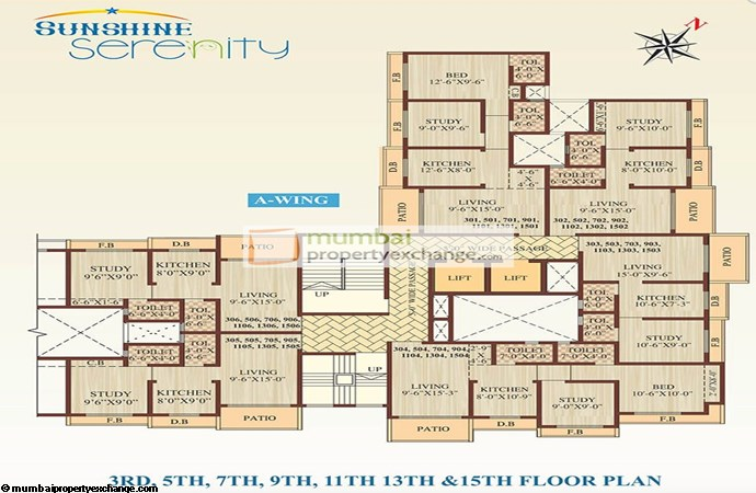 Sunshine Serenity Floor Plan