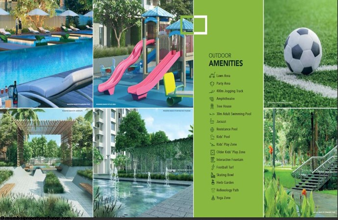 Wadhwa Courtyard  Wadhwa Courtyard Outdoor Amenities