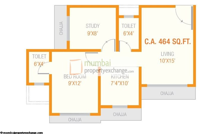 Krishna Chaitanya Floor plan