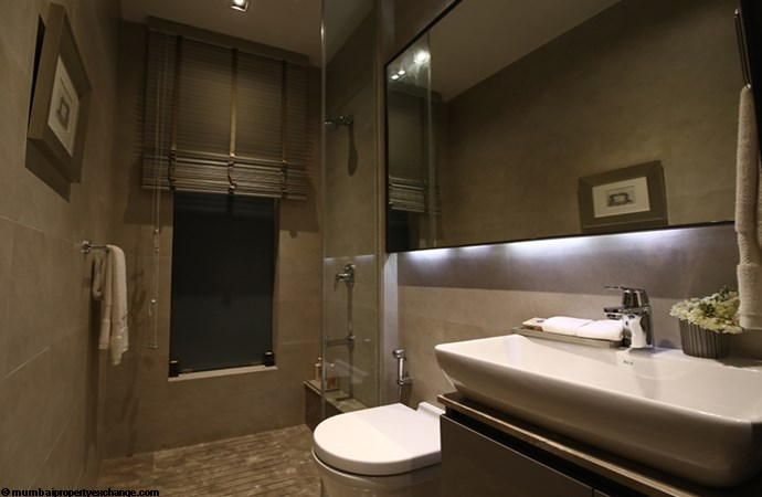 Sunteck City Avenue 1 Avenue 1 Sample Flat Bathroom