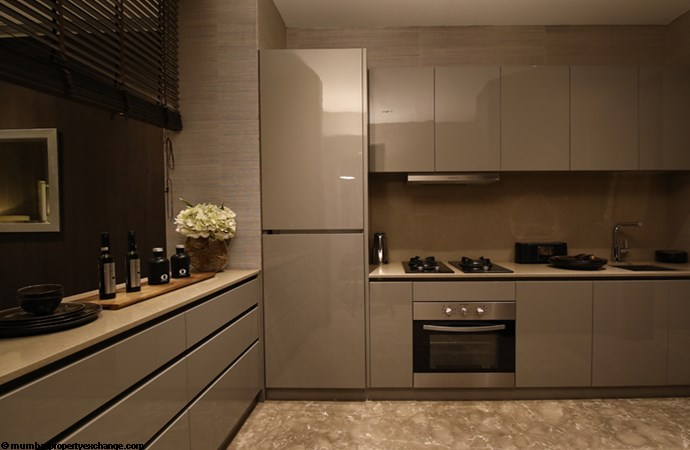 Sunteck City Avenue 1 Avenue 1 Sample Flat Kitchen