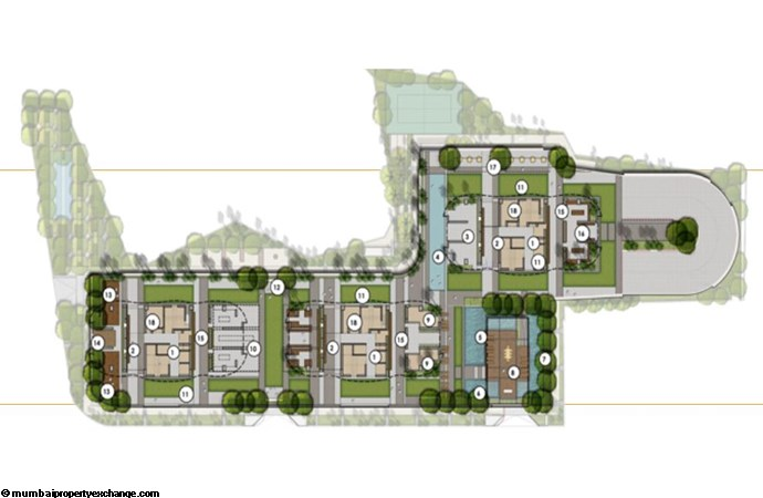 Sunteck City Avenue 1 Avenue 1  Stilt Floor Plan