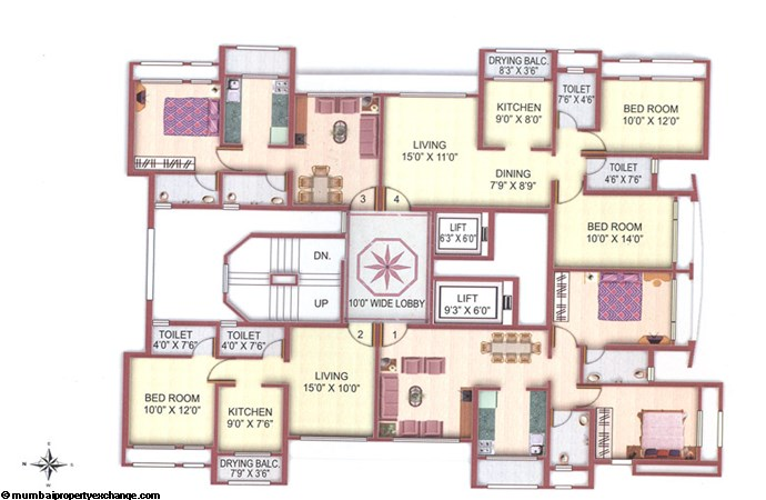 Manavsthal Floor Plan