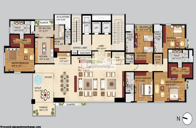 ABIL Mansion Floor Plan
