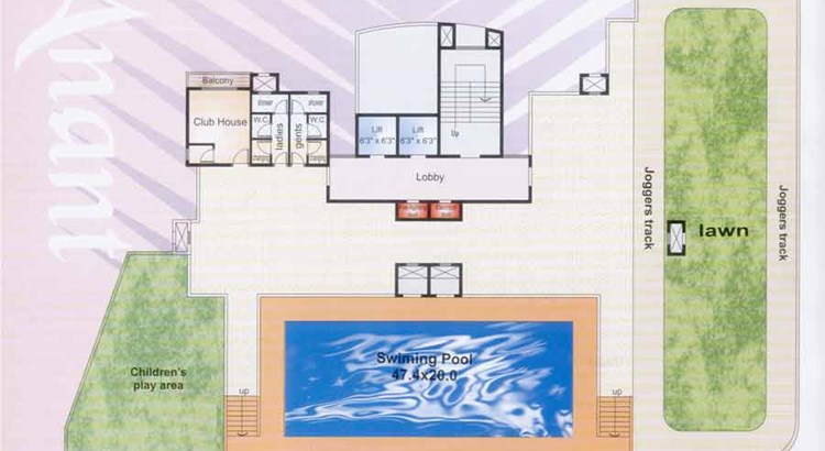 Swarna Anant 2nd Floor Plan