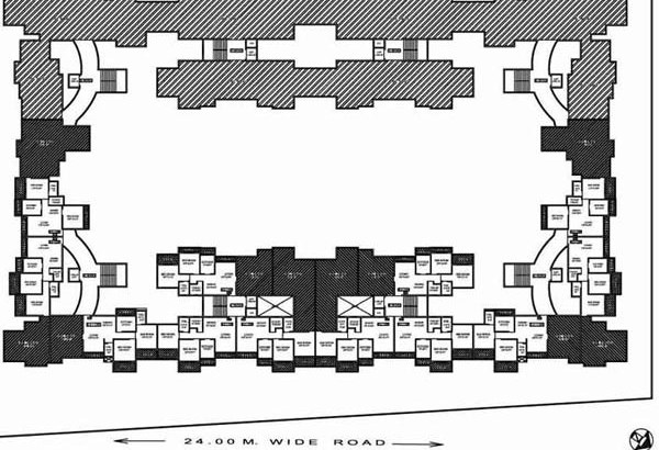 Sea Queen Paradise 7th Floor Plan